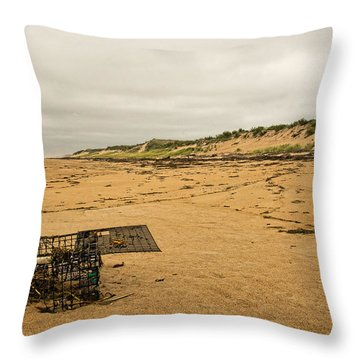 The Lobster Trap Throw Pillow
