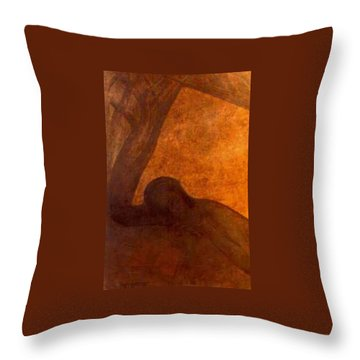 The Lonely Throw Pillow