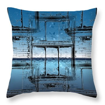 The Looking Glass Reprised Throw Pillow by Tim Allen