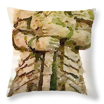 The Lord Throw Pillow