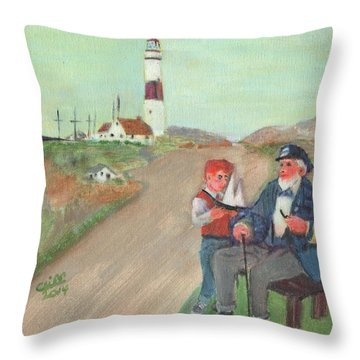 The Lore Of The Sea Throw Pillow
