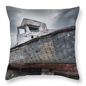 The Lost Fleet Dry Dock Throw Pillow