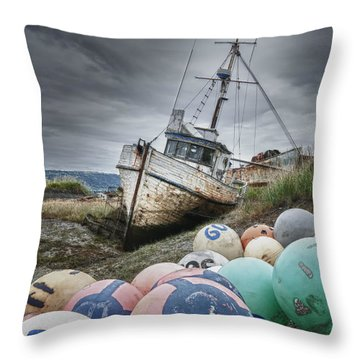 The Lost Fleet Grounded Throw Pillow