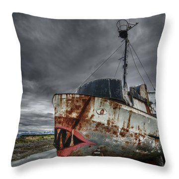 The Lost Fleet Jaws Throw Pillow