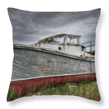 The Lost Fleet Run Aground Throw Pillow