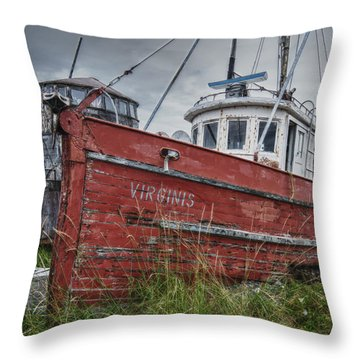 The Lost Fleet Virginis Throw Pillow