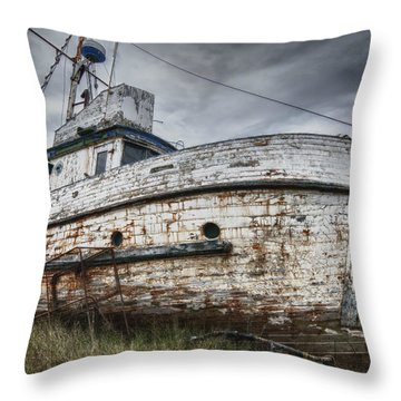 The Lost Fleet Weathering The Storm Throw Pillow