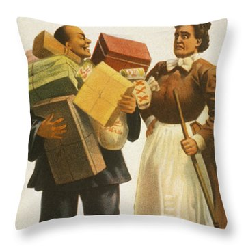 The Lost Trail Throw Pillow by Aged Pixel