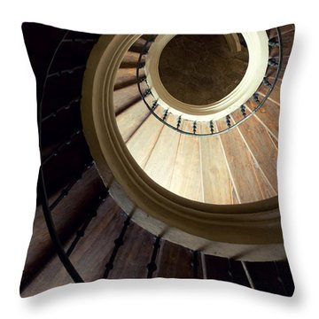 The Lost Wooden Tower Throw Pillow