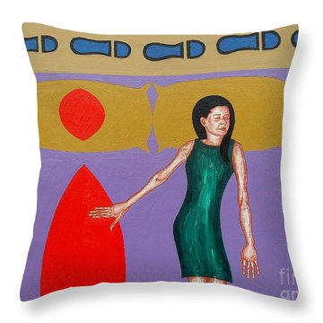 The Lovers Throw Pillow by Patrick J Murphy