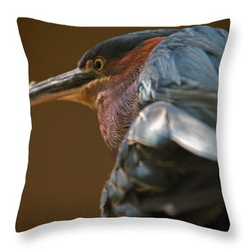The Mad Guy Throw Pillow