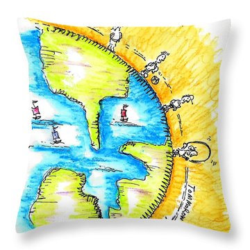 The Magic Is Always Inside You Throw Pillow by Jason Nicholas