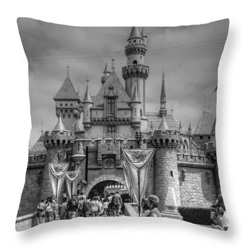 The Magic Kingdom Throw Pillow