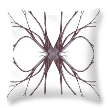 The Magic Of Nature Throw Pillow by Giuseppe Epifani