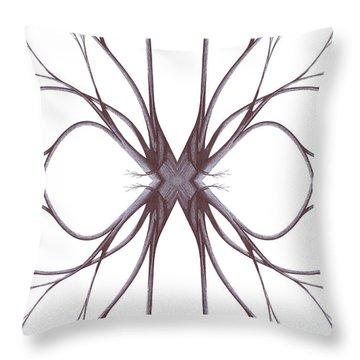 The Magic Of Nature Throw Pillow