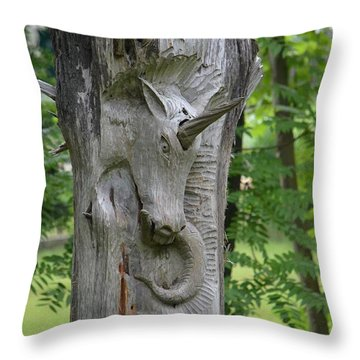 The Magic Of Unicorns Throw Pillow