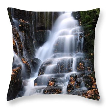 The Magic Of Waterfalls Throw Pillow