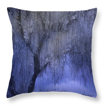 The Magic Tree Throw Pillow by Kume Bryant
