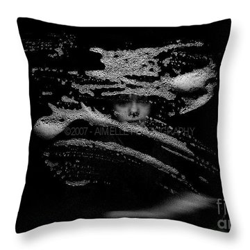 The Magician Throw Pillow by Aimelle