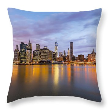 Throw Pillow featuring the photograph The Man Of Steel by Anthony Fields