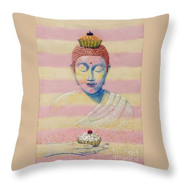 The Manifestation Of Cupcakes Throw Pillow