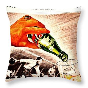 The Mans Mixer Throw Pillow