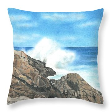 The Marginal Way Throw Pillow