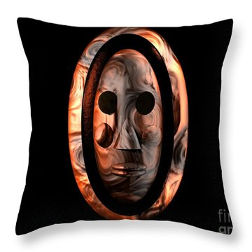 The Mask Series 1 Throw Pillow