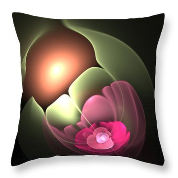 The Matrix Of Life Throw Pillow