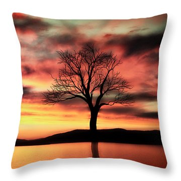 The Memory Tree Throw Pillow