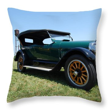 The Mercer Touring Coupe Throw Pillow by Mustafa Abdullah