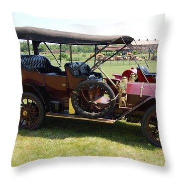 The Mercer Touring Sedan Throw Pillow
