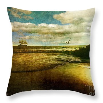 The Mermaids Tale Throw Pillow