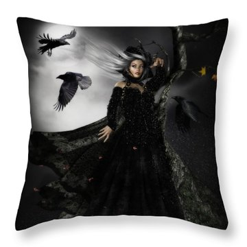 The Messengers Throw Pillow