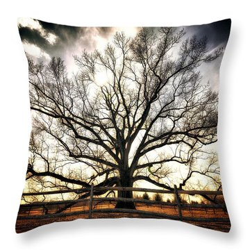 The Mighty Ent Throw Pillow