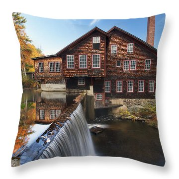 The Mills Throw Pillow by Eric Gendron