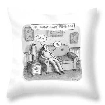 The Mind Body Problem Throw Pillow