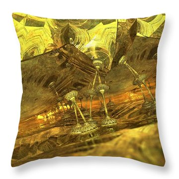 The Minions Of Atlas Throw Pillow