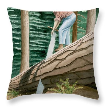 The Misery Whip Throw Pillow