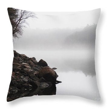 The Mist Throw Pillow by Dana DiPasquale