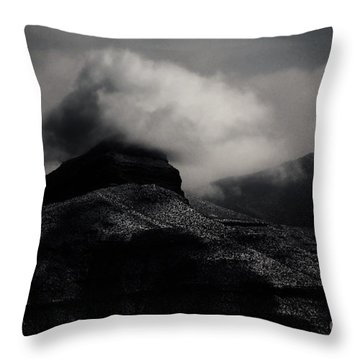 The Mist Throw Pillow by Jessica Shelton