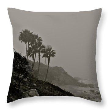 The Mists Of Laguna Beach Throw Pillow