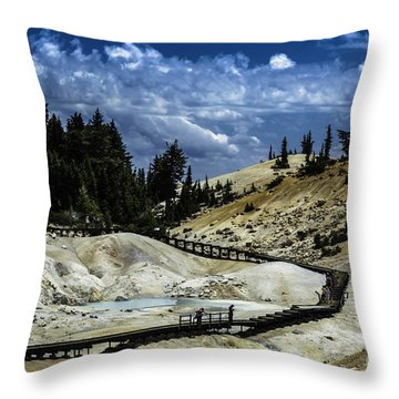 The Moment Ends Throw Pillow