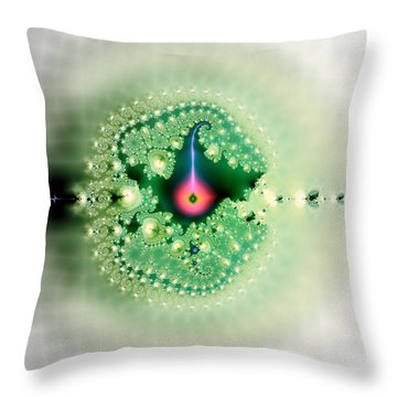 The Moment Of Conception Throw Pillow by Renee Trenholm