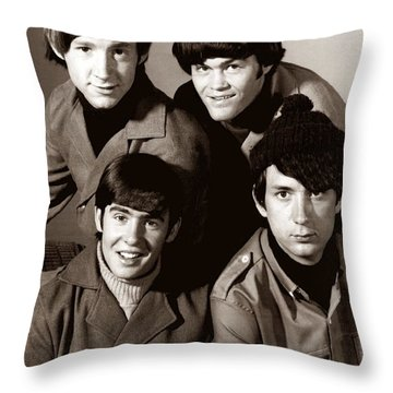 The Monkees 2 Throw Pillow