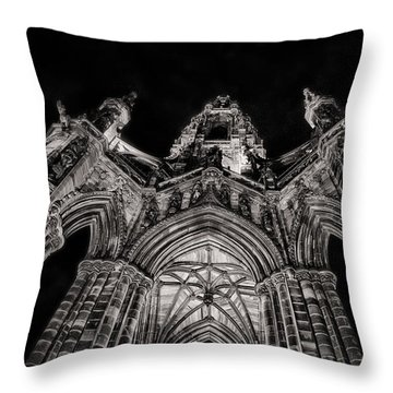 The Monument Throw Pillow