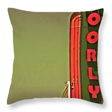 The Moorlyn At The Shore  Throw Pillow