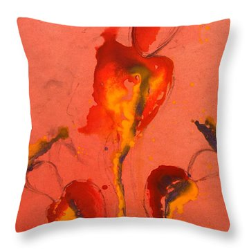 The Mortal Angels Throw Pillow