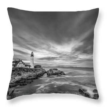 The Motion Of The Lighthouse Throw Pillow