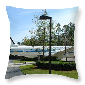 Throw Pillow featuring the photograph The Mouse by David Nicholls
